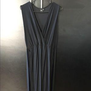 Asos sleeveless high slit dress